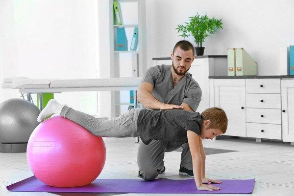 fisioterapista bambini