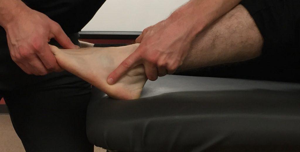 diagnosi isntabilità cronica della caviglia