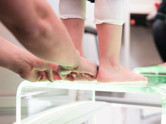 diagnosticare piede piatto nei bambini