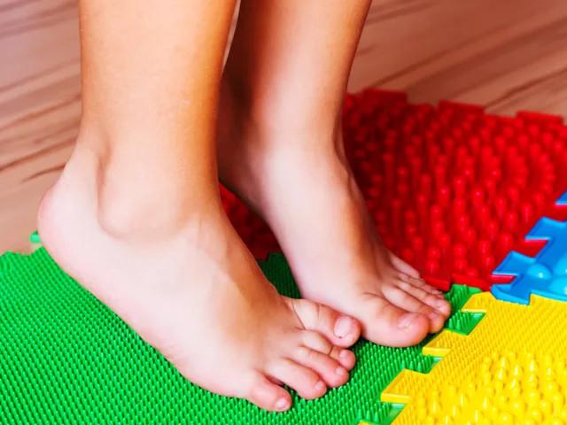 piede piatto nei bambini